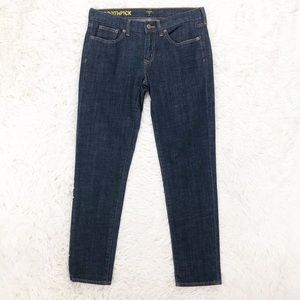 J. Crew Toothpick skinny ankle jeans size 28